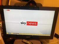 "Samsung 32"" LCD TV, HDMI, Scart, Remote"