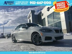 2016 BMW 228XI XDRIVE - LEATHER SEATS, DUAL CLIMATE CONTROL