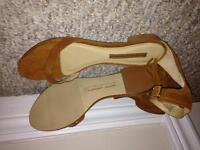 Brand new Chinese Laundry sandals (leather)