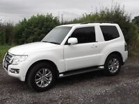 MARCH 2015 MITSUBISHI SHOGUN SWB Manual 3DR MODEL SG2 Today = 8650 miles.