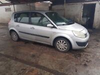 RENAULT MEGANE SCENIC. 1.4,, EXCELLENT DRIVE, PX CLEARENCE ( ANY OLD CAR PX WELCOME )