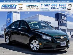 2014 Chevrolet Cruze **Only 56,000 kms!  Remote Start!**