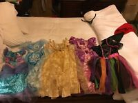 Girls dressing up outfits Disney age 5+