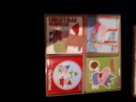 BRAND NEW BOX OF PEPPA PIG CHRISTMAS CARDS