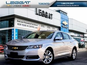2017 Chevrolet Impala Lease 0 Down $299 monthly Plus HST *