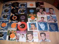 Elvis Presley vinyl records x 25