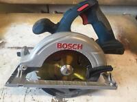 Bosch 18v li circular saw