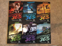 Conspiracy 365, teenage fiction books.