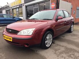 03 Ford Mondeo 1.8 LX Saloon - MOT December - Service Record - PX TO CLEAR