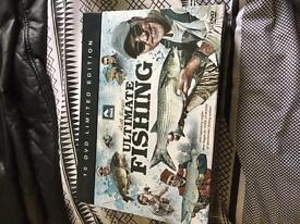 Matt Haynes ultimate fishing limited edition 10 DVD box set