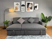 REGAL CORNER SOFA BED ✅ LARGE STORAGE✅