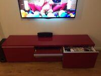 Red TV Unit