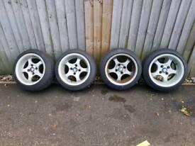 Nissan alloys new tyres
