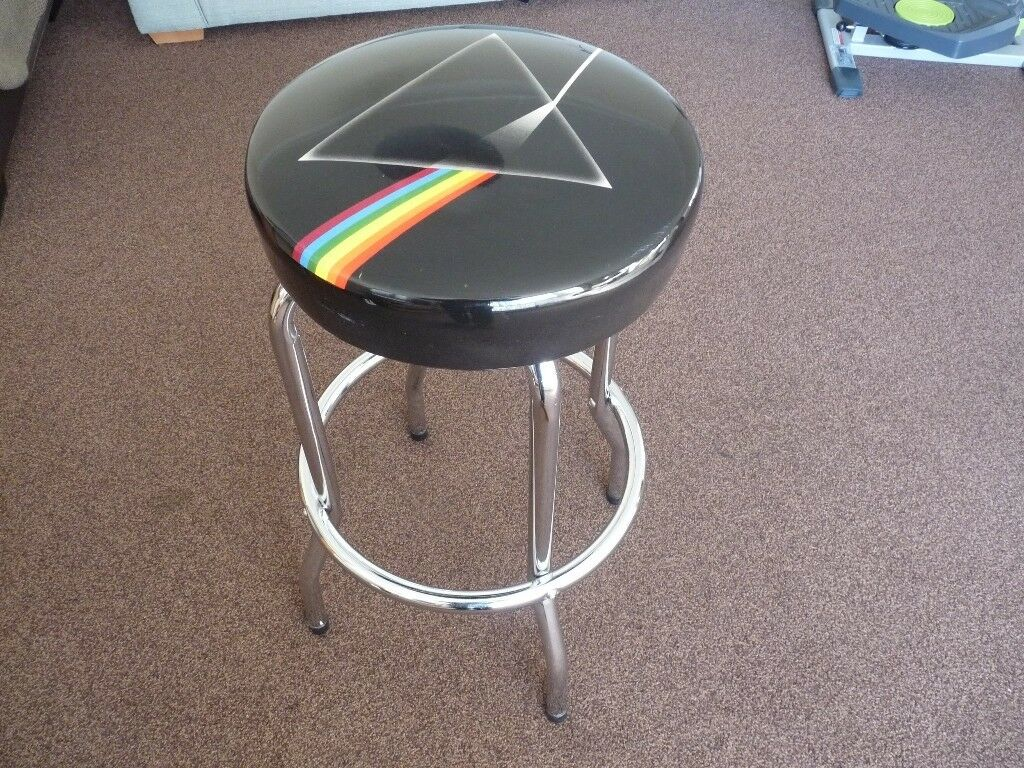 Incredible Pink Floyd Dark Side Of The Moon Bar Stool In Newhaven Edinburgh Gumtree Pabps2019 Chair Design Images Pabps2019Com