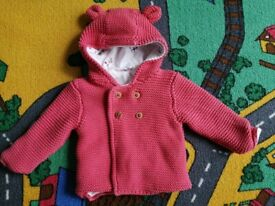 Baby girl M&S jacket 0-3 months