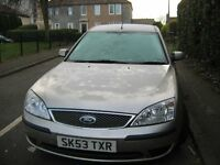 ford mondeo LXTDCI.5 DOOR HTCHBACK EXCELLENT CONDITION.1 year mo.to