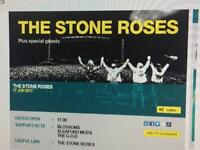 2 x Stone Roses Tickets - Sat 17th June