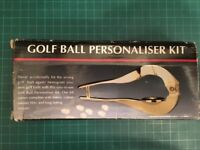 GOLF BALL PERSONALISER KIT - EASY TO USE - Never accidentally hit the wrong ball