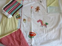 """Cot bed bedding set - """"gingerbread"""" from Mamas & Papas"""
