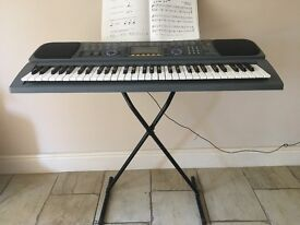 Electronic Keyboard Casio CTK 601 with stand