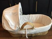 Moses basket baby crib bassinet