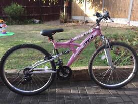 Ladies trax tfs1 bike as new