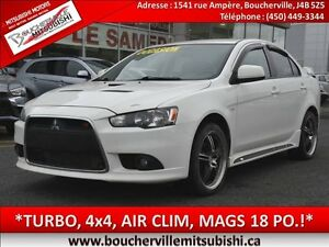2012 Mitsubishi Lancer Ralliart*4x4, TURBO, AIR CLIM*