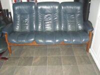 Leather Sofa Ekornes Recliner