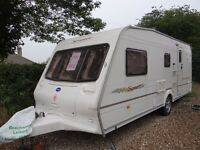 Four berth Bailey Arizona Caravan - excellent condition