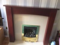 Mahogany Fire surround - Used in good condition