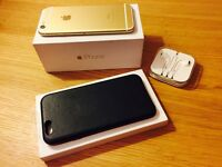 iPhone 6 - 16GB - Gold - Free Apple leather case
