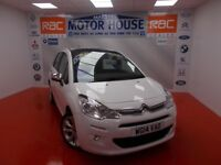 Citroen C3 SELECTION (£20.00 ROAD TAX) FREE MOT'S AS LONG AS YOU OWN THE CAR!!! (white) 2014