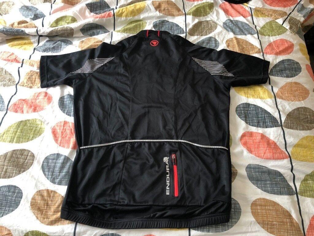 a185b0a9e Endura Xtract II Short Sleeve Cycling Jersey Medium