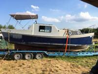 Project grp boat and trailer !!!