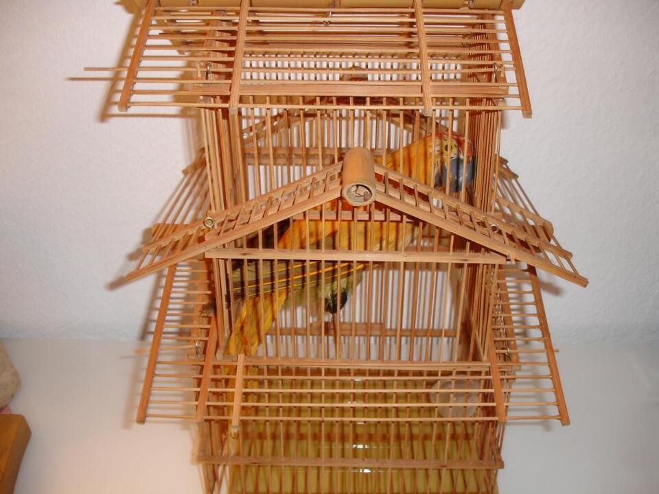Vogelkäfig aus Holz dekorativ in Berlin
