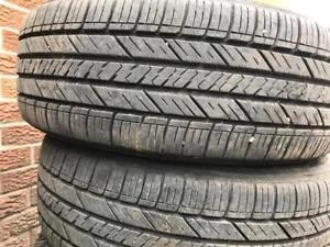 205-60-16 GoodYear All season 4 Tires 90%Tread | Free Install And Balance