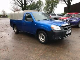 2009 Mazda BT-50 2.5TD single Cab 4×2 Pick-Up C/w Aluminium Lift-off canopy