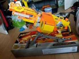 Nerf Havoc gun and stand