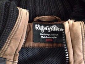 Jacket RefrigiWear brown used Medium size keep very warm well made suit small, waterproof RRP 200