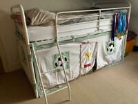 NEXT Mid Sleeper Bed with Football Print Surround