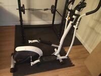 V-fit cross trainer