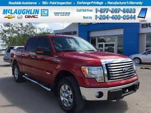 2012 Ford F-150 XLT 4X4 Crew One Owner Local trade Ecoboost