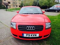 Audi TT 1.8 T 3dr Hpi clear Red Leather Pack Full Dealer History 1 owner Px welcome
