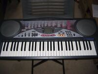 Casio LK50 Keyboard and Accessories