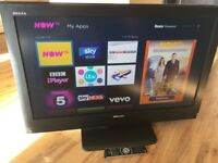 TOSHIBA REGZA 37inch HD LCD TV,FREEVIEW FREE DELIVERY