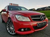 2012 Mercedes C class C220 Cdi 170bhp SE Blue Eff £20 Road Tax! C63 ALLOYS! Full Leather! Lovely Car
