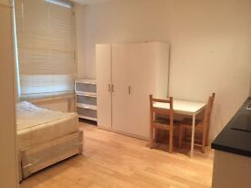 STUDIO FLAT BUCKLEY ROAD NW6 5 MIN WALK FROM KILBURN STATION ALL BILLS INC. FURNISHED