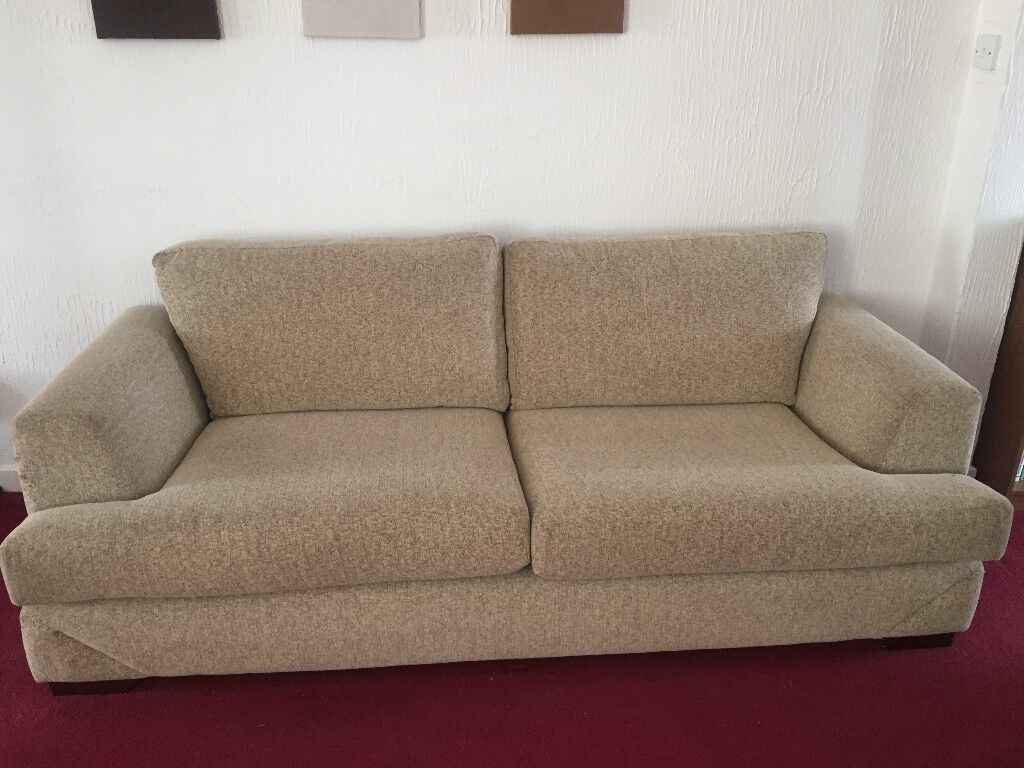 Large Beige Sofa 3 1 Bedroom Dresser Dining Room Table Chairs Please Contact Me For Prices