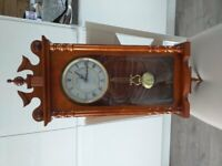 wall mounted grandfather clock