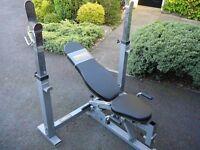 Powertec weight bench